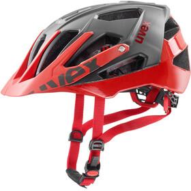 UVEX Quatro - Casque de vélo - gris/rouge